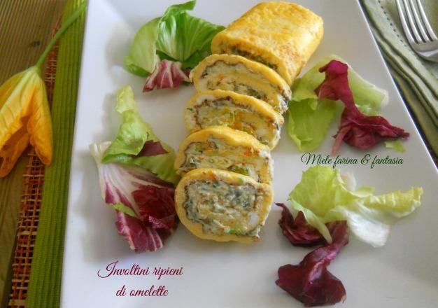Ricetta Omelette Fantasia – Antipasto