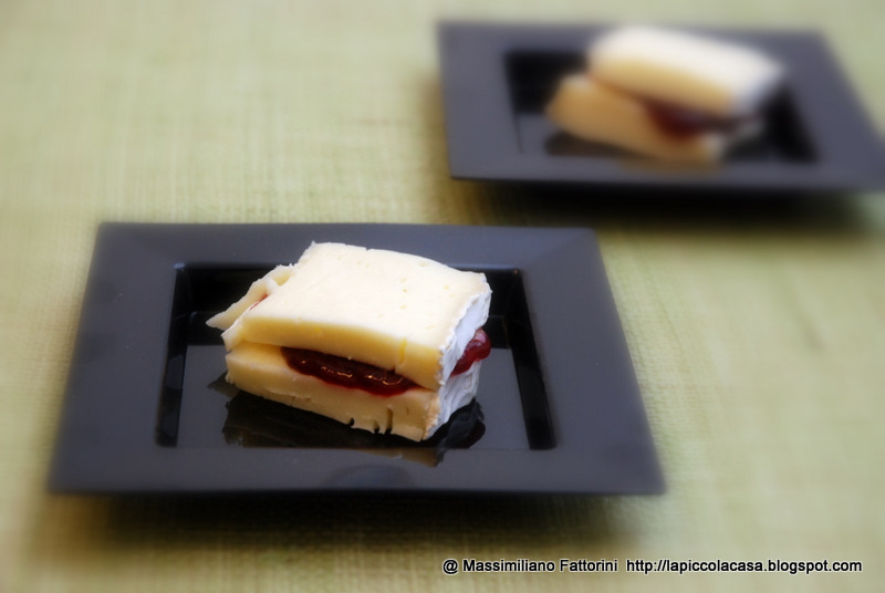 Ricetta Sandwich Di Marmellata Di Ciliegie – Dessert