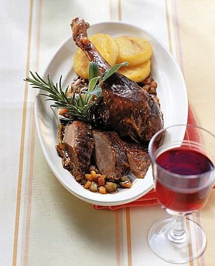 Ricetta Anatra Al Vino Rosso – Pollame