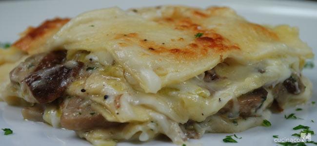 Ricetta Lasagne Ai Funghi.Ricetta Lasagne Ai Funghi Primo Donne Magazine