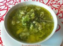 Ricetta Minestra Di Riso Coi Broccoli – Primo