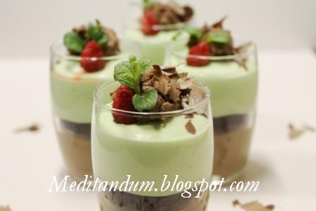 Ricetta Mousse Alla Menta – Dessert