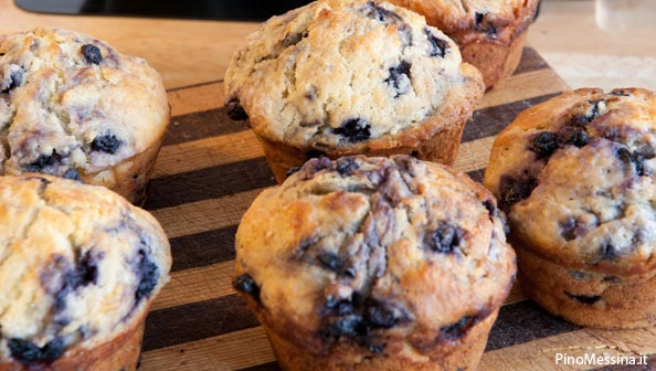 Ricetta Muffins Ai Mirtilli – Dessert