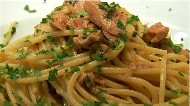 Ricetta Spaghetti Con Il Tonno – Primo