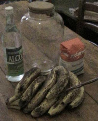 Ricetta Liquore Di Banane – Bevande