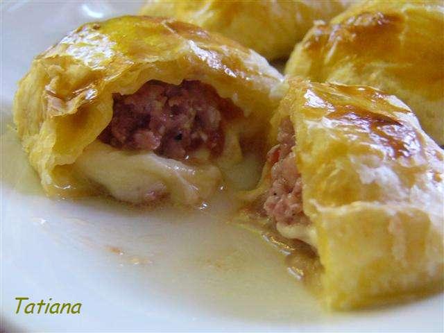 Ricetta Salsicce In Pasta Sfoglia – Carne