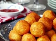 Ricetta Palline Di Formaggio Fritte – Antipasto