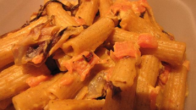 Ricetta Pasta Con Zucca E Radicchio – Primo