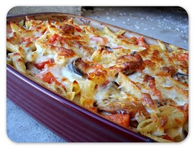 Ricetta Pasta Con Le Melanzane Al Forno – Primo