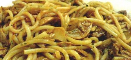 Ricetta Spaghetti Con Tonno E Funghi – Primo