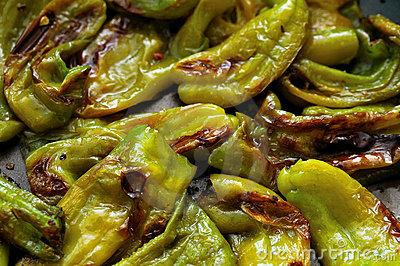 Ricetta Peperoni Verdi Stufati – Contorno