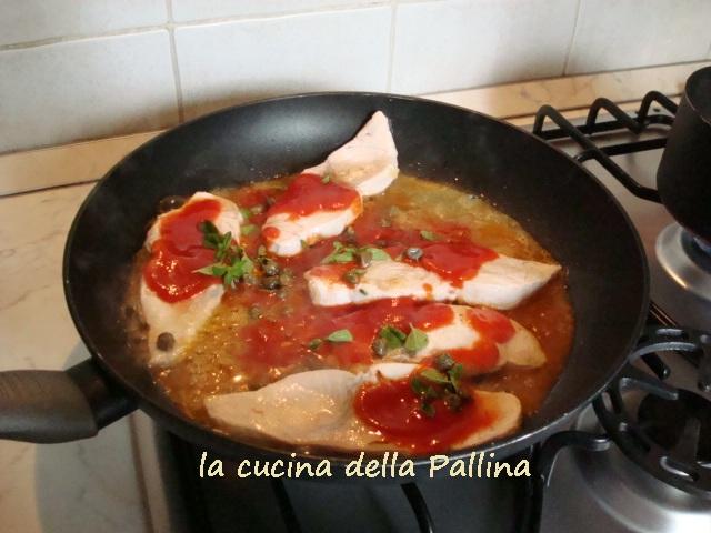 Ricetta Pesce Spada Al Pomodoro – Pesce
