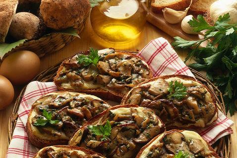Ricetta Crostoni Ai Funghi (2) – Antipasto