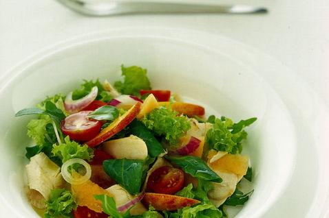 Ricetta insalata sfiziosa di soncino contorno donne for Soncino insalata