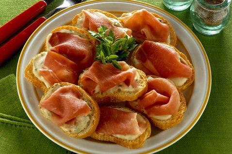 Ricetta Crostini Cremosi – Antipasto