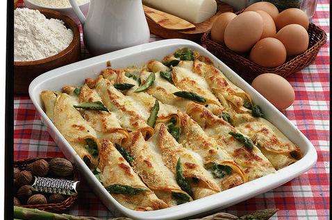 Ricetta Crepes Agli Asparagi (3) – Antipasto