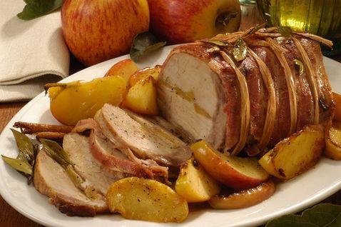 Ricetta Arrosto Di Maiale Con Le Mele – Carne