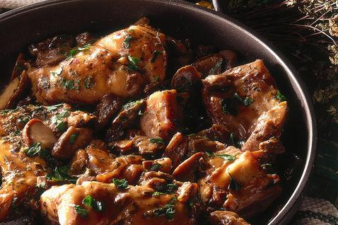 Ricetta Coniglio Con I Funghi – Carne