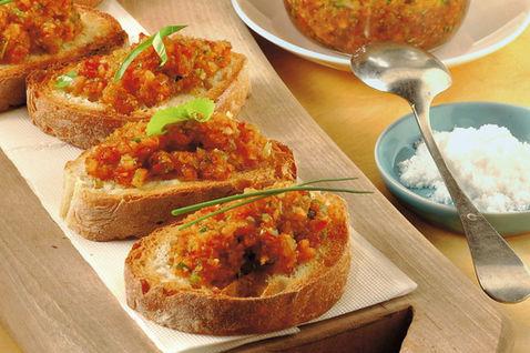 Ricetta Crostini Saporiti – Antipasto