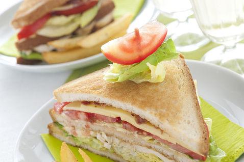Ricetta Club Sandwich Al Pollo – Antipasto