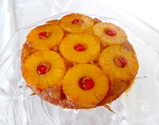 Ricetta Pineapple Upside-down Cake – Dessert