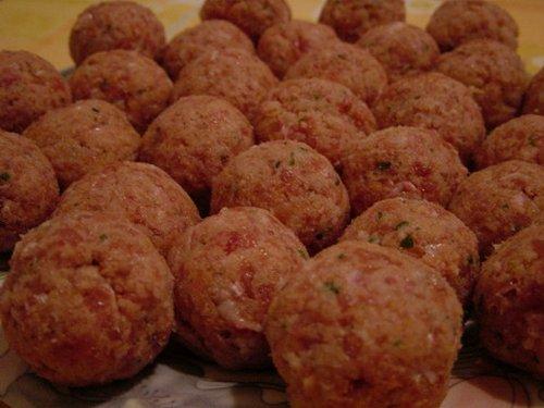 Ricetta Grossa Polpetta Di Manzo – Carne