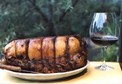 Ricetta Porchetta Alla Brace Farcita – Carne