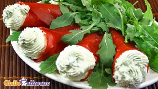 Ricetta Coni Di Bresaola – Antipasto