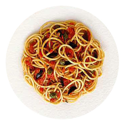 Ricetta Spaghetti Alla Puttanesca (2) – Primo