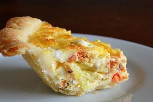 Ricetta Quiche Di Pesce E Crostacei – Pesce