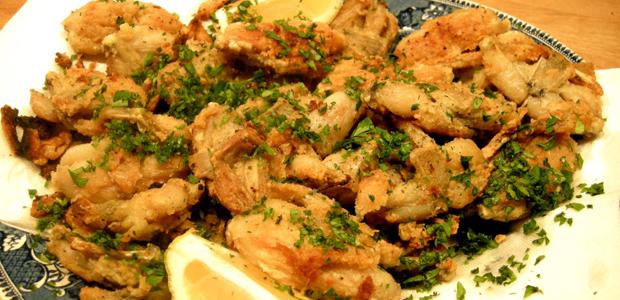 Ricetta Rane Fritte (2) – Carne