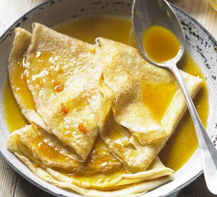 Ricetta Crepes Suzette (3) – Dessert