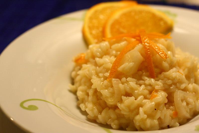 Ricetta Risotto All'arancia – Primo
