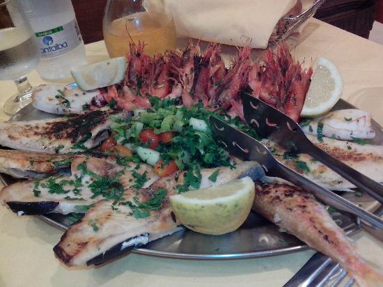 Ricetta Grigliata Di Spada, Gamberi E Calamari – Pesce