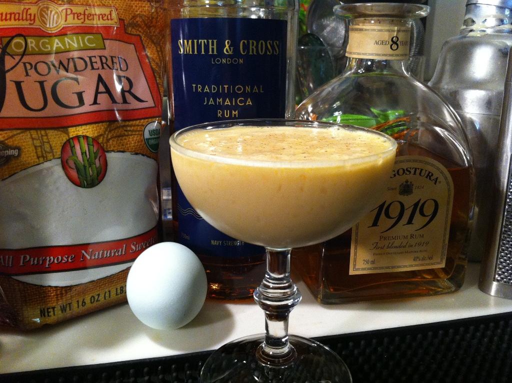 Ricetta Rum Flip – Bevande