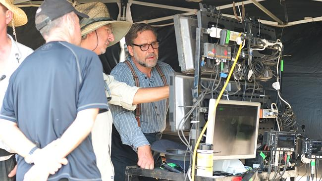 Russell Crowe debutta come regista