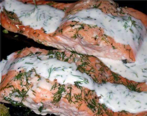 Ricetta Salmone Al Forno Con Panna – Pesce