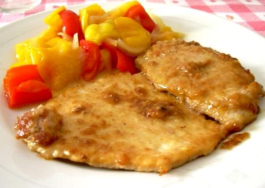 Ricetta Scaloppine Al Marsala – Carne