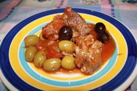 Ricetta Spezzatino Con Olive – Carne