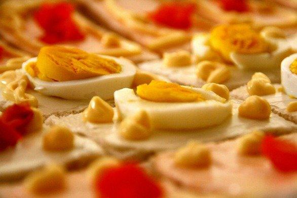 Ricetta Tartine Con Maionese E Uova Sode – Antipasto