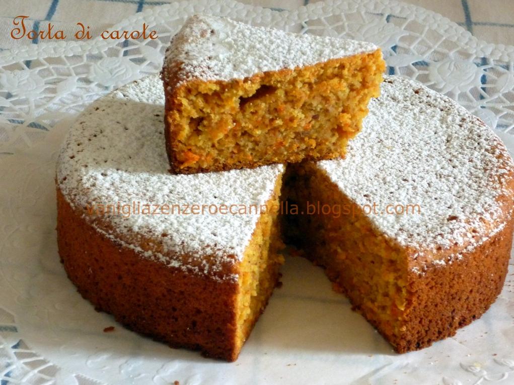 Ricetta Torta Di Carote (8) – Dessert