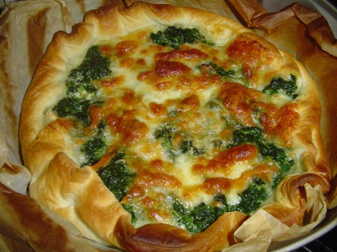 Ricetta Torta Di Spinaci E Formaggio – Antipasto