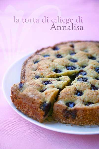 Ricetta Torta Di Ciliegie – Dessert