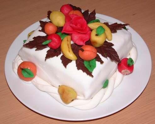 Ricetta Torta Al Marzapane – Dessert