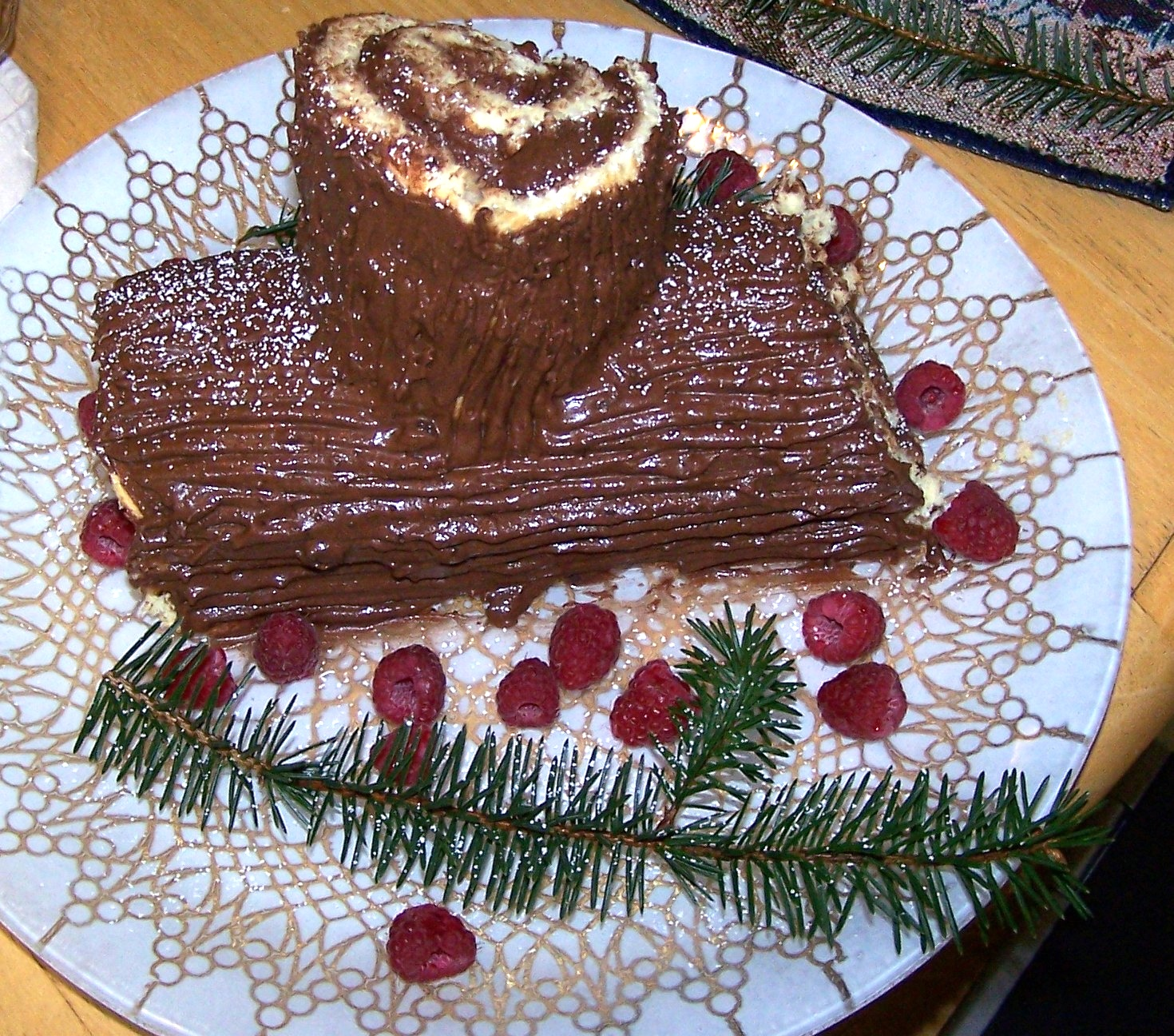 Ricetta Tronco Di Natale – Dessert