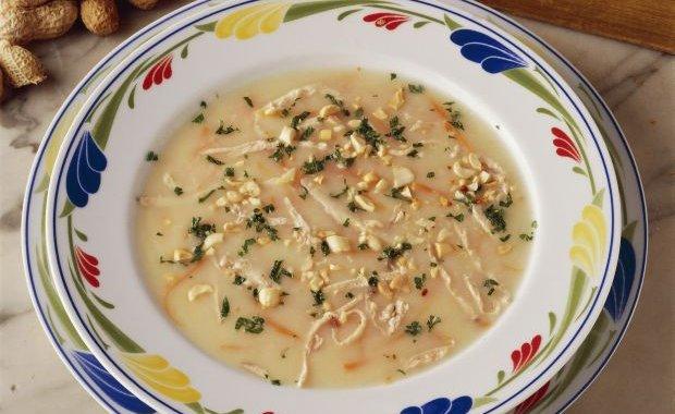 Ricetta Zuppa Di Pasta Di Arachidi – Primo
