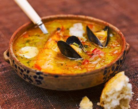 Ricetta Zuppa Di Pesce Con Verdure – Pesce