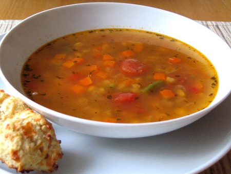 Ricetta Zuppa Di Verdure – Primo