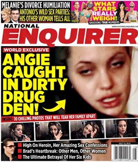 Angelina Jolie: lo scandalo