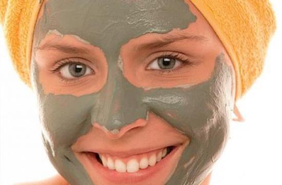 Maschera all'argilla